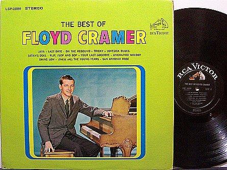 Cramer, Floyd - The Best Of - Vinyl LP Record - Country