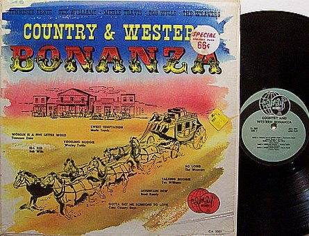 Country & Western Bonanza - Vinyl LP Record - Various Artists