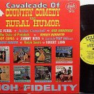 Cavalcade Of Country Humor - Vinyl LP Record - Minnie Pearl / Archie Campbell / Johnny Bond etc