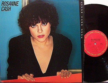 Cash, Rosanne - Seven Year Ache - Vinyl LP Record - Roseanne - Promo - Country