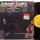 Cash, Johnny - Johnny Cash's Round Up - Vinyl LP Record - Wilburn Brothers / Billy Grammer - Country