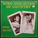 Cash, Johnny & Tammy Wynette - King And Queen Of Country - Vinyl 4 LP Record Box Set