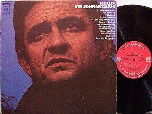 Cash, Johnny - Hello I'm Johnny Cash - Vinyl LP Record - 360 Label - Country