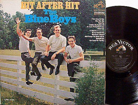 Blue Boys, The - Hit After Hit - Vinyl LP Record - Jim Reeves Band - Country