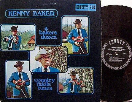 Baker, Kenny - A Bakers Dozen - Vinyl LP Record - Country Bluegrass