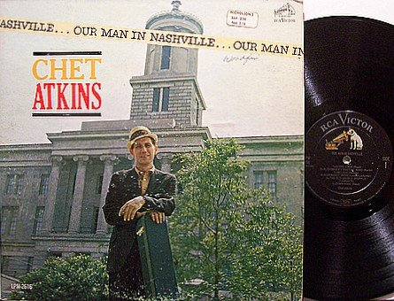 Atkins, Chet - Our Man In Nashville - Vinyl LP Record - Country