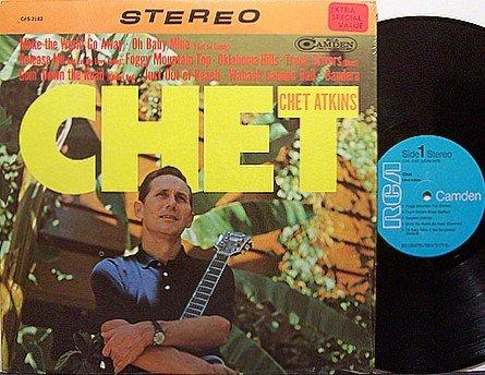 Atkins, Chet - Chet - Vinyl LP Record - Country
