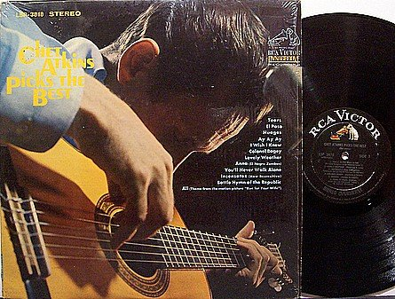 Atkins, Chet - Chet Atkins Picks The Best - Vinyl LP Record - Country