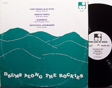 Drums Along The Rockies - Private Drum Competition - Vinyl LP Record - Marching Band