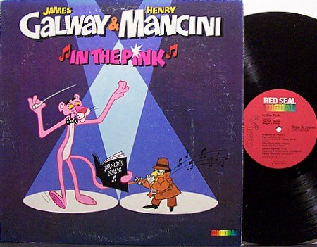 Pink Panther - In The Pink - Henry Mancini / James Galway - Vinyl LP Record - Children Kids