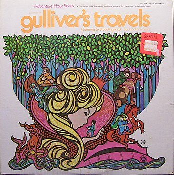 Gulliver's Travels - Journey To Brobdingnag - Sealed Vinyl LP Record - Children Kids