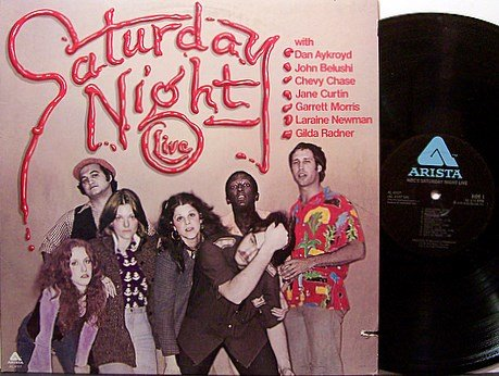 Saturday Night Live - Vinyl LP Record - John Belushi / Gilda Radner etc - 1976 - TV Comedy