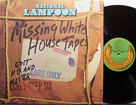 National Lampoon - The Missing White House Tapes - Vinyl LP Record - Comedy