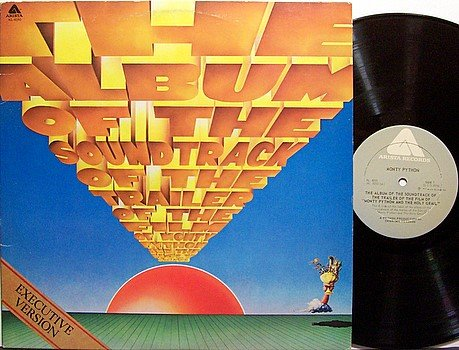Monty Python And The Holy Grail - Vinyl LP Record - Comedy
