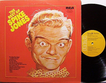 Jones, Spike - The Best Of Spike Jones - Vinyl LP Record - Comedy