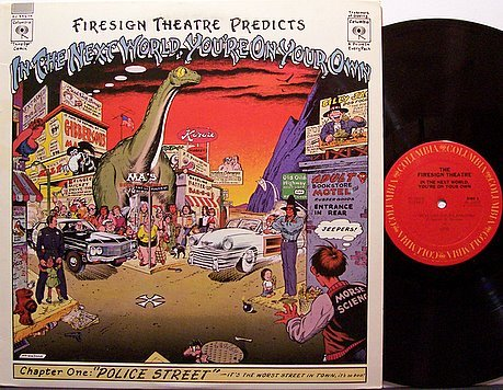 Firesign Theater, The - Predicts In The Next World You're On Your Own - Vinyl LP Record - Comedy