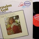 Shemer, Naomi - Jerusalem Of Gold - Vinyl LP Record - World Music Israeli Israel