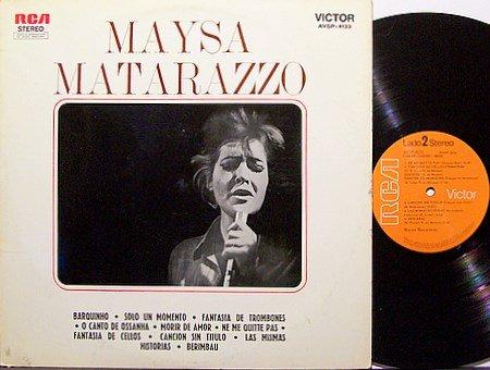 Matarazzo, Maysa - Self Titled - Vinyl LP Record - World Music Argentina Bossa Nova