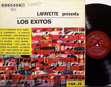 Lafayette Presenta Los Exitos Vol. II - Vinyl LP Record - World Music Argentina