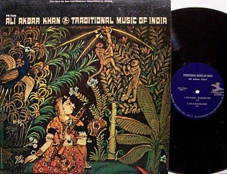 Khan, Ali Akbar - Traditional Music Of India - Vinyl LP Record - World Music