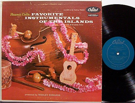 Hawaii Calls Favorite Instrumentals Of The Islands - Vinyl LP Record - World Music Hawaiian
