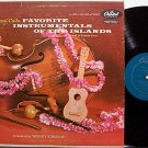 Hawaii Calls Favorite Instrumentals Of The Islands - Vinyl LP Record - World Music Hawaiian