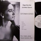 Estonian Songs - Vinyl LP Record - World Music Europe Estonia