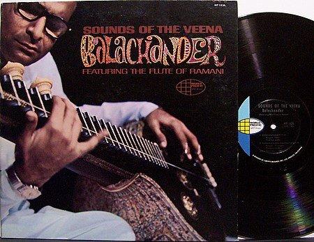 Balachander - Sounds Of The Veena - Vinyl LP Record - World Music Indian India