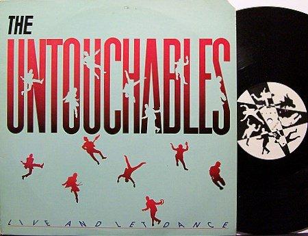 Untouchables, The - Live And Let Dance - Vinyl Mini LP Record - DJ Ska Reggae