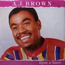 Brown, A.J. - Rhyme Or Reason - Sealed Vinyl LP Record - AJ - Reggae