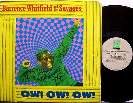 Whitfield, Barrence And The Savages - Ow! Ow! Ow! - Vinyl LP Record - Blues