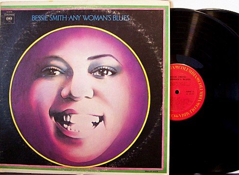 Smith, Bessie - Any Womans Blues - Vinyl 2 LP Record Set - Blues