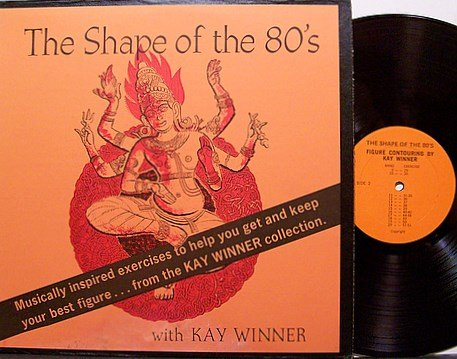 Winner, Kay - The Shape Of Things To Come - Vinyl LP Record - Weird Hindu Fire Buddha Cover
