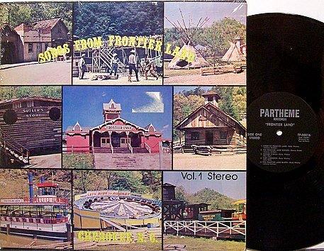 Songs From Frontier Land Volume 1 - Vinyl LP Record - Amusement Theme Park Odd Unusual Weird