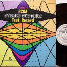 RCOA Stereo Systems Test Record - Vinyl LP - Audio Hi Fi Odd Unusual Weird
