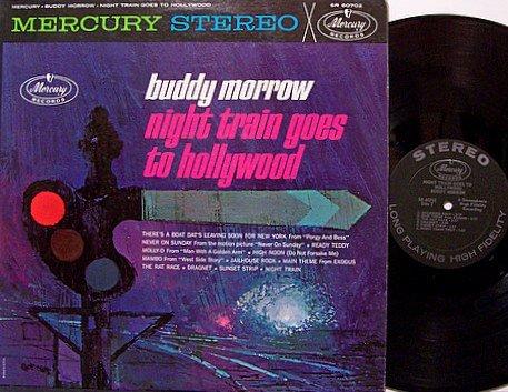 Morrow, Buddy - Night Train Goes To Hollywood - Vinyl LP Record - Weird Pop