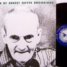 Lyrics By Ernest Noyes Brookings - Vinyl LP Record - Beat Poetry Weird - Fred Lane etc