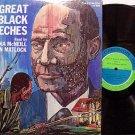 Great Black Speeches - Vinyl 2 LP Record Set - Slavery Slave Art Cover - Spoken Word