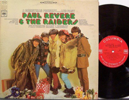 Revere, Paul & The Raiders - A Christmas Present And Past - Vinyl LP Record - Rock