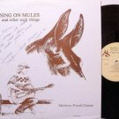 Greene, Marilynn Powell - Musing On Mules - Signed - Vinyl LP Record - Tennessee Folk