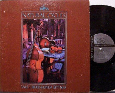 Crider, Dale & Linda Bittner - Natural Cycles - Signed - Vinyl LP Record - Bluegrass Folk
