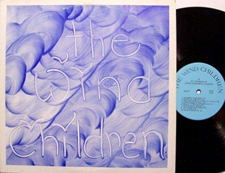 Wind Children, The - Self Titled - Signed -  Vinyl LP Record - Christian Folk Psych