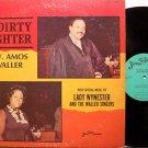 Waller, Rev Amos - A Dirty Fighter - Vinyl LP Record - Swan Silvertones - Black Gospel