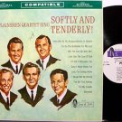 Plainsmen Quartet, The - Softly And Tenderly - Vinyl LP Record - Southern Gospel