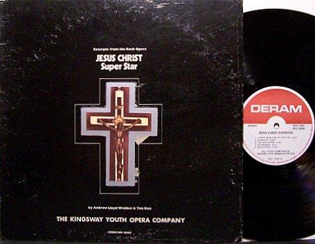 Kingsway Youth Opera Company - Jesus Christ Superstar - Vinyl LP Record - Christian Rock