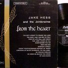 Hess, Jake And The Jordanaires - From The Heart - Vinyl LP Record - Southern Gospel