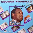 Foreman, George - Thank You Jesus - Sealed Vinyl LP Record - Boxing Sports Christian Gospel