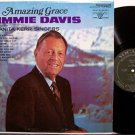 Davis, Jimmie - Amazing Grace - Vinyl LP Record - Country Gospel