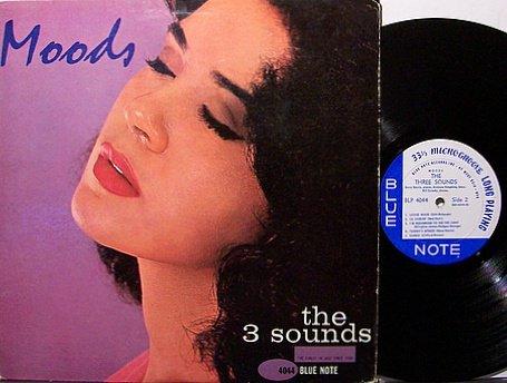 Three Sounds, The - Moods - Vinyl LP Record - RVG - Mono - 3 - Jazz