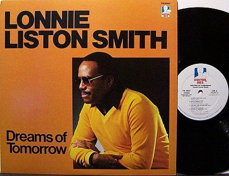 Smith, Lonnie Liston - Dreams Of Tomorrow - Vinyl LP Record - White Label Promo - Jazz